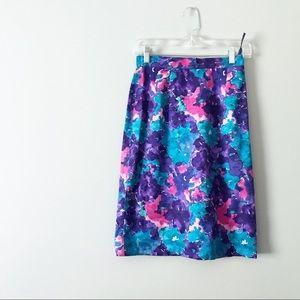 2 piece 100% Silk Skirt Set by Spenser Jeremy